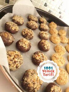 cevizli kurabiye tarifi yapımı