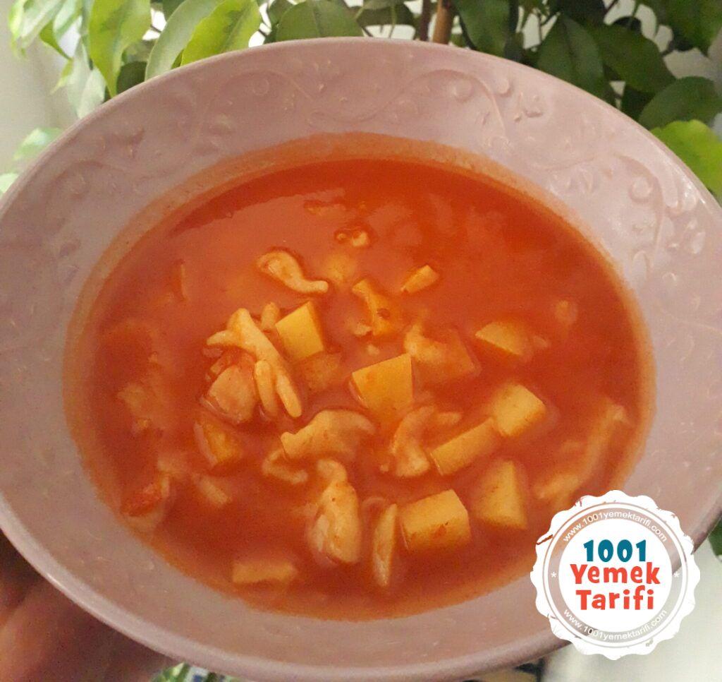 Kesme Mantı Çorbası Tarifi-yapımı-nasıl yapılır