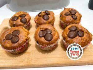 Meyveli fit muffin