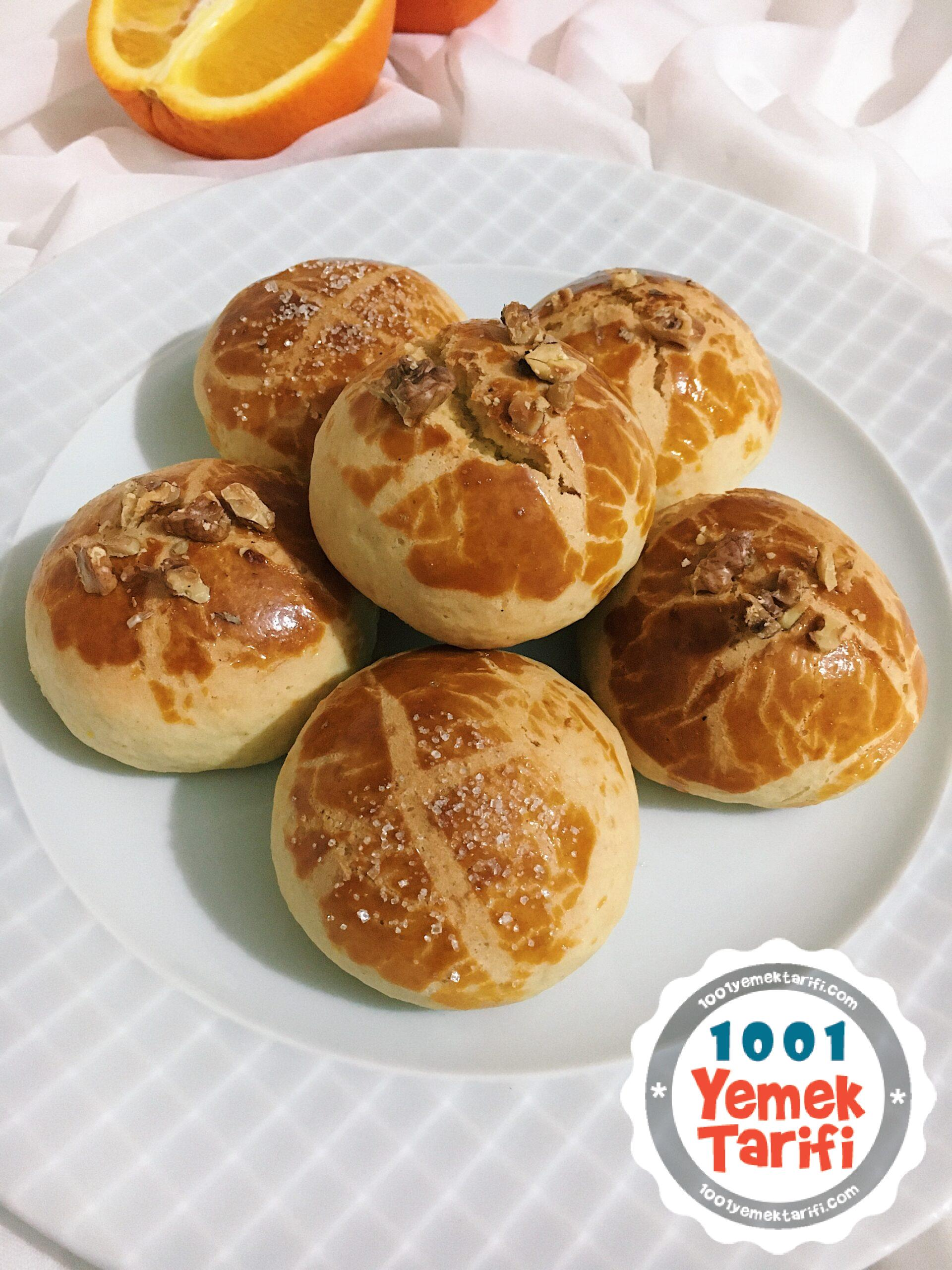 Portakallı Kurabiye Tarifi-nasıl yapılır-kaç kalori