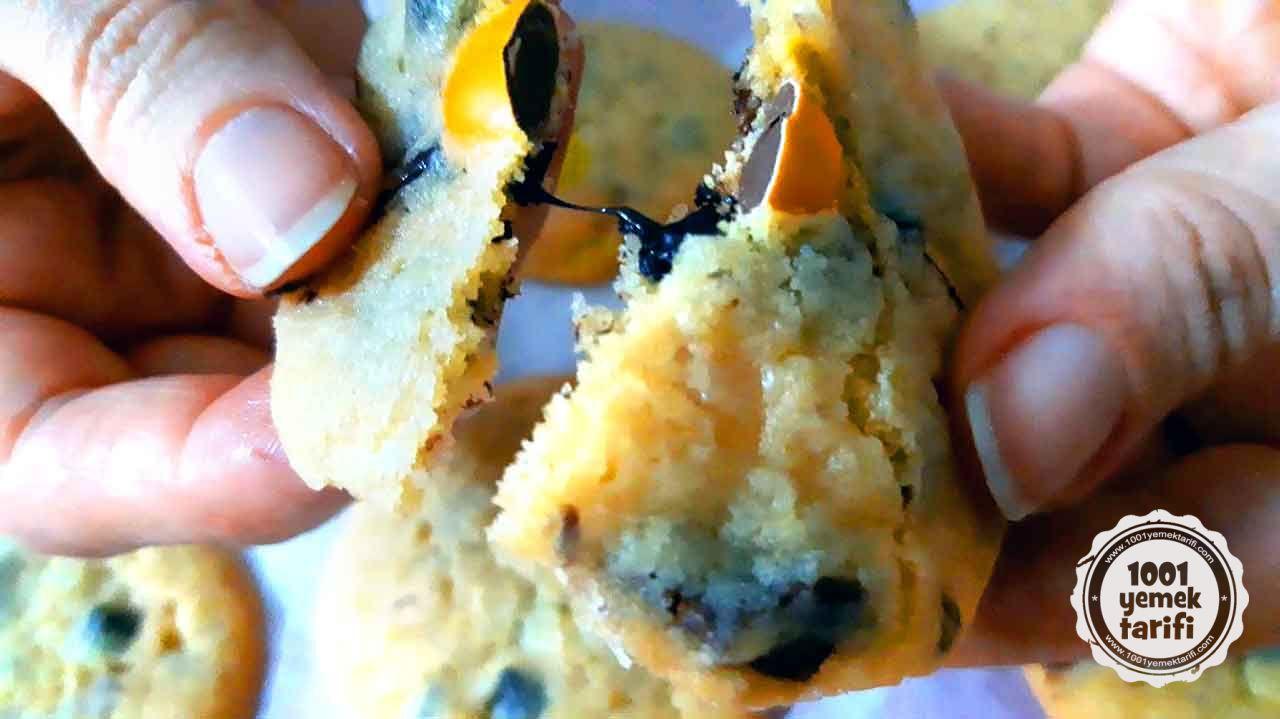 tatlı kurabiye tarifi-damla çikolatalı kurabiye tarifi-kolay nefis