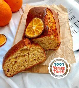 Şekersiz kek tarifi-Portakallı kek tarifi-Diyet Kek yapımı-Fit Kek nasıl yapılır