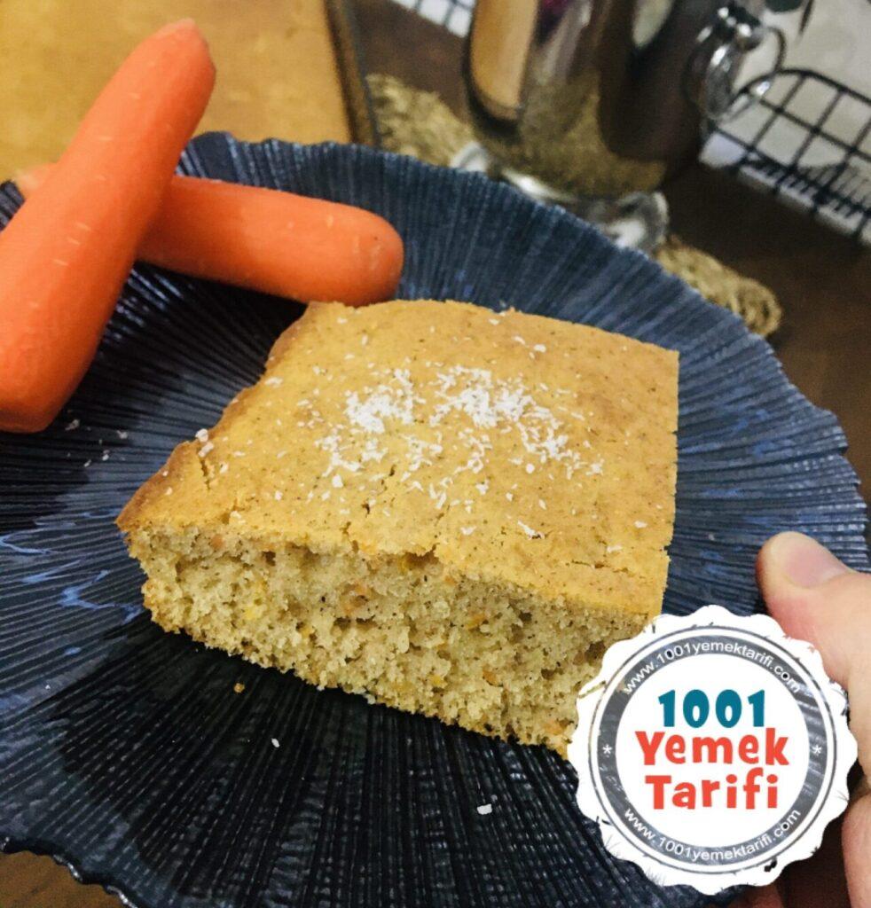 Havuçlu Tarçınlı Kek Tarifi yapımı nasıl yapılır kaç kalori