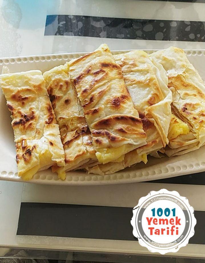 Hazır Yufkadan Patatesli Gözleme Tarifi nasıl yapılır kac kalori 1001yemektarifi