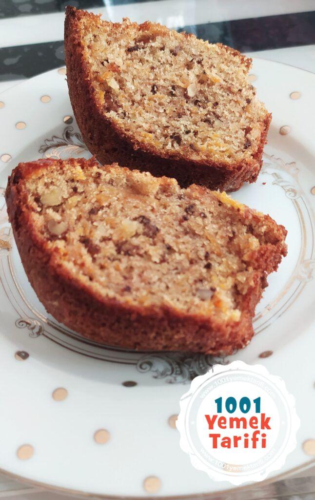 tarçınlı ve havuçlu kek tarifi yapımı nasıl yapılır kac kalori-1001yemektarifi