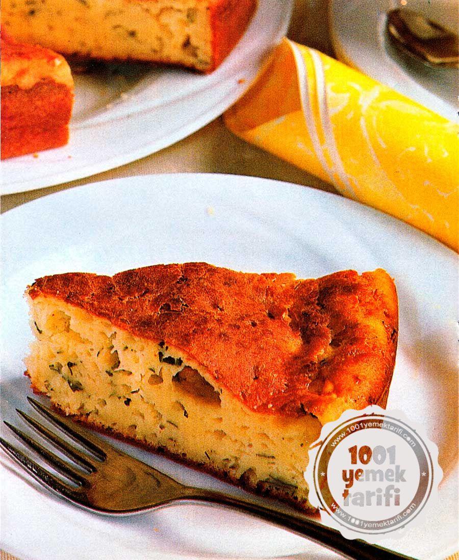 Peynirli Kek Tarifi: Kolay ve Nefis Kek (kaç kalori ve besin değeriyle)