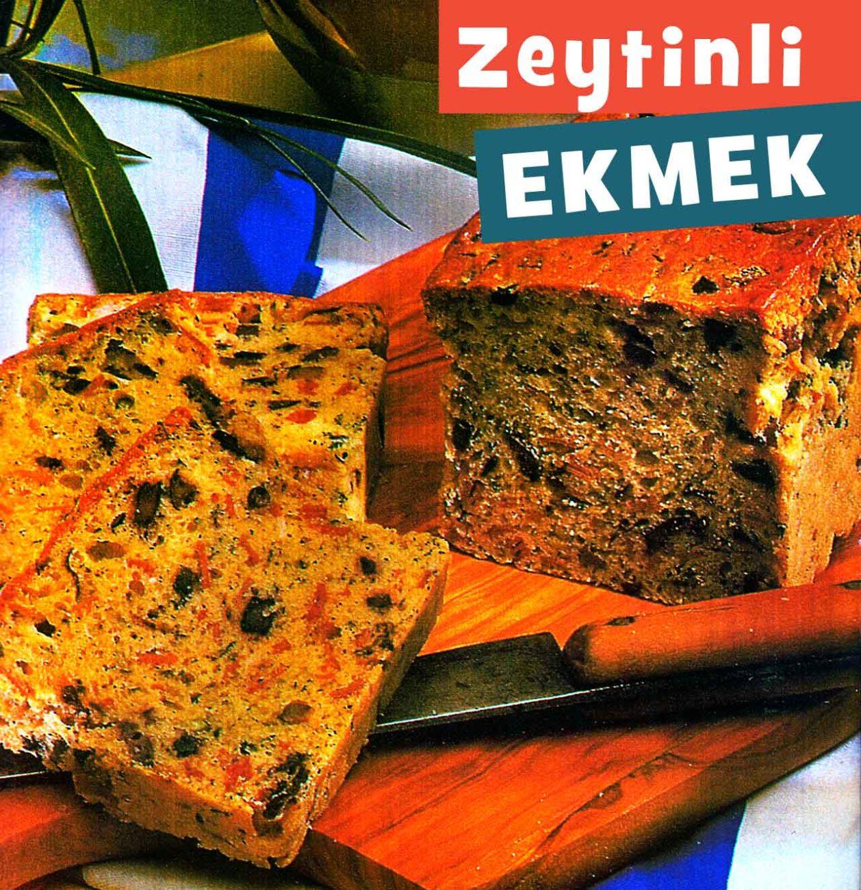 Zeytinli Ekmek Tarifi (kolay yapım)
